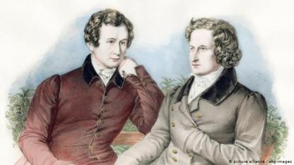 Irmãos Grimm deixaram legado que vai além da célebre reunião de contos