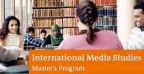 Master´s Program International Media Studies na Alemanha