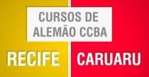 Cursos de Alemão no CCBA –  no Recife e em Caruaru