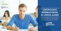 Formulário para interessados em certificados oficiais de alemão