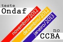 Novas datas do Teste Ondaf no Recife
