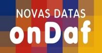 Datas para o Ondaf no CCBA em outubro e novembro