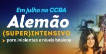 Cursos (super) intensivos de alemão em JULHO no CCBA
