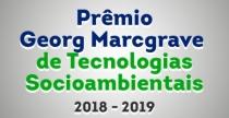Prêmio Georg Marcgrave de Tecnologias Socioambientais 2018 - 2019